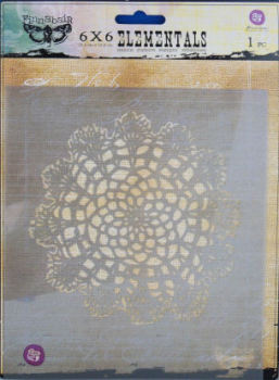 Doily 6x6 Stencil