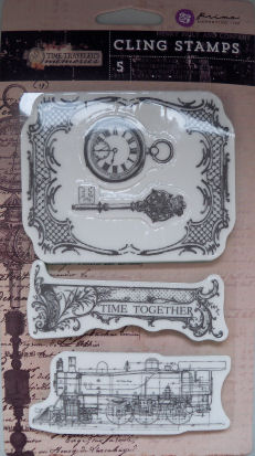 Time Traveller Cling Stamps