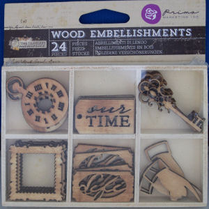 Wooden Icons - Time Traveller