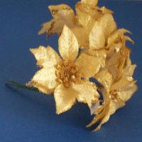 Large Poinsettia Flower