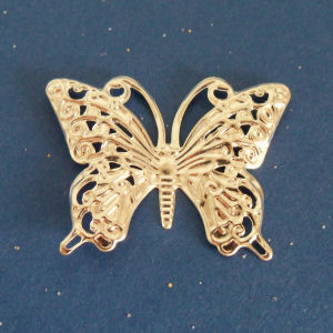 Metal Butterfly Embellishments