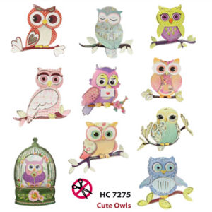 Cute Owls Easy 3D Designs