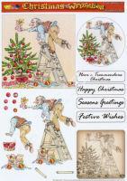 Decorating the Tree Decoupage Sheet