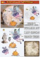 Fairy Grandmother Decoupage Sheet