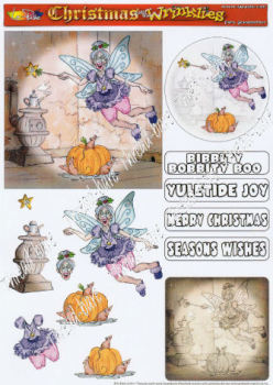 Fairy Grandmother Decoupage Sheet
