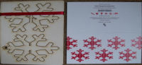 Christmas Snowflake Pop Out Card