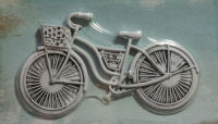 Shabby Chic Metal Bicycle Embellishment