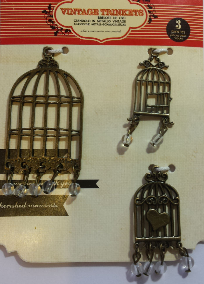 Vintage Trinkets Bird Cages