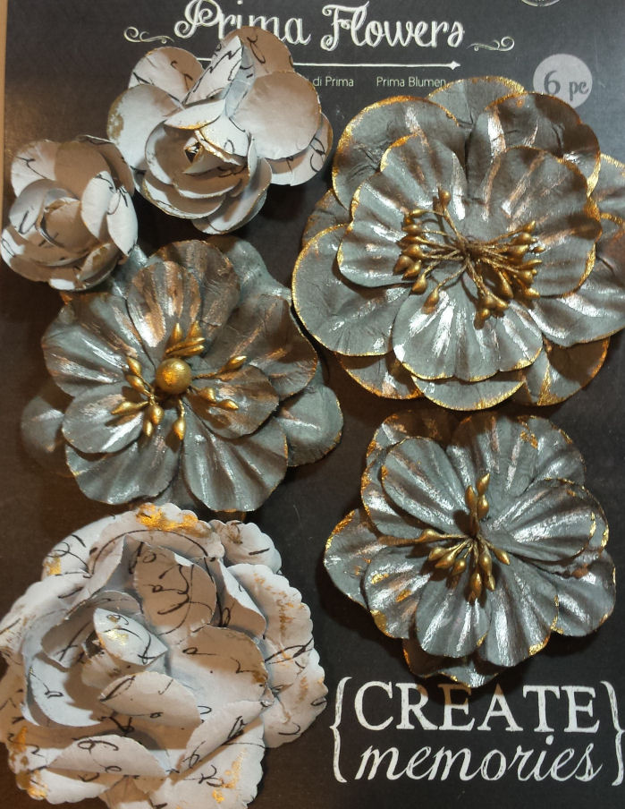 Bellas Large Paper Roses