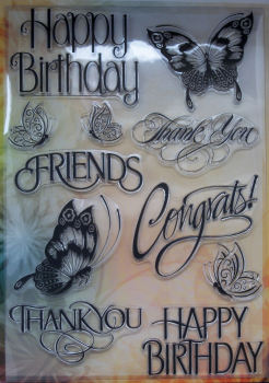 Noor! Design Sayings Clear Stamps