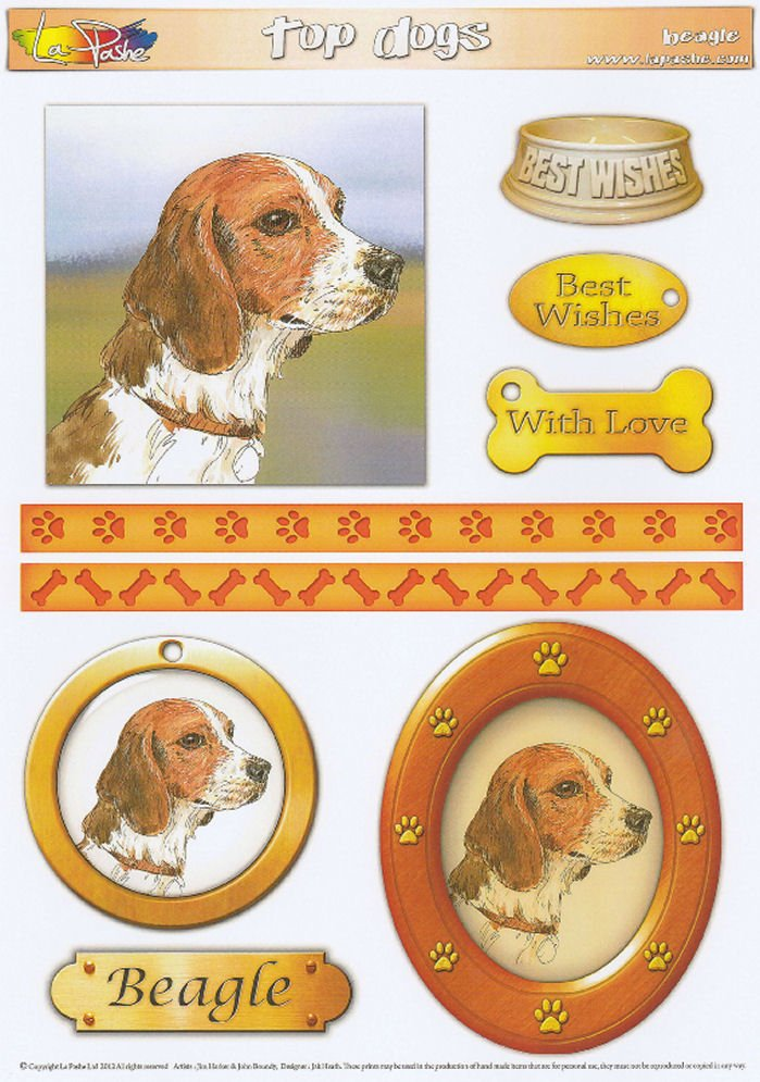 Beagle Topper Sheet