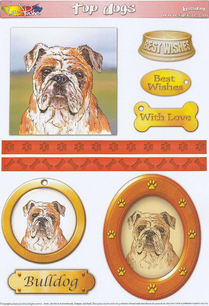 Bulldog Topper Sheet