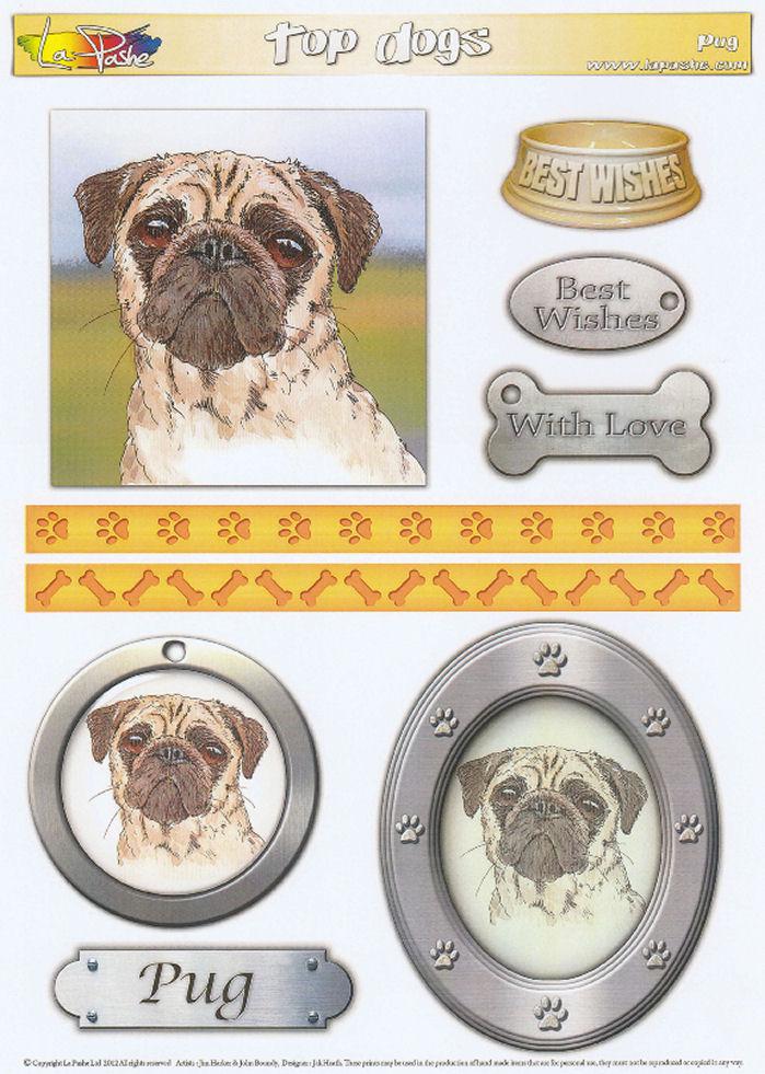 Pug Topper Sheet