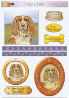 Springer Spaniel Topper Sheet