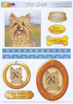 Yorkshire Terrier Topper Sheet