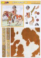 Horse Play Decoupage Plus Sheet