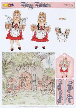 The Beer Fairy Decoupage Sheet