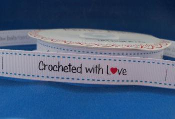 Crocheted with L♥ve Grosgrain Ribbon