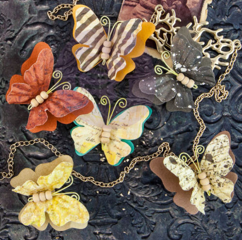 Butterfly Embellishments - Timeless Memories