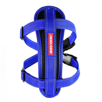 Chest Plate Dog Harness-Blue-X Small ON SALE.