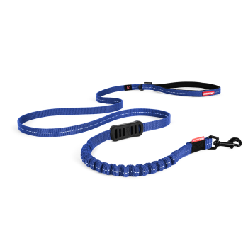 New Zero Shock Dog Lead-Blue-Long-Lite