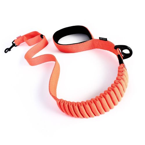 Zero Shock Dog Lead - Orange