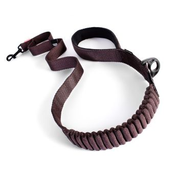 Zero Shock Dog Lead - Chocolate - Long