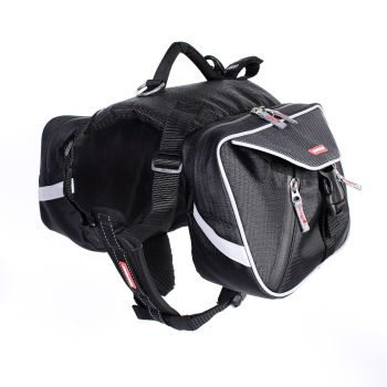 Summit Dog Backpack - Black - Large