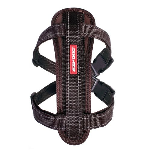 Chest Plate Dog Harness - Chocolate - Small