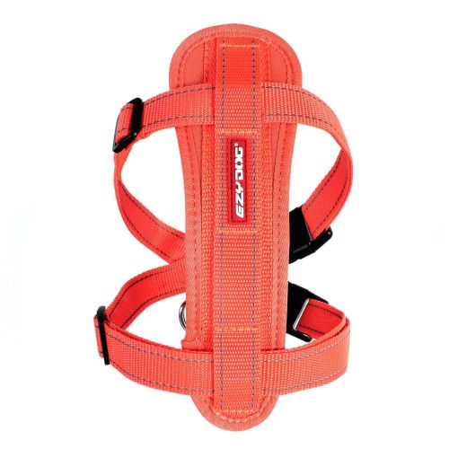 Chest Plate Dog Harness - Orange - Large