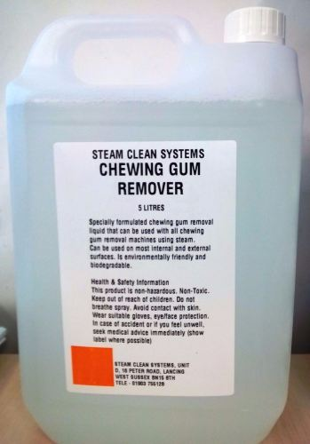 gum remover chemical