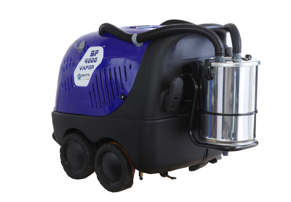 ST4000 Vacuum Diesel Powered High Volume Steam Cleaner with Vacuum Extracti