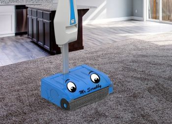 Mr Scrubby on carpet