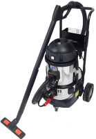 SC2000DT 6Bar-2.6Kg/hr Commercial Steam and Vacuum Cleaner With Detergent Injection and trolley