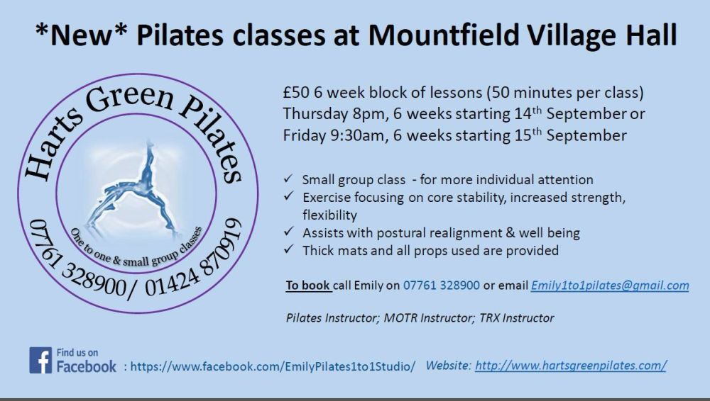 MVH Pilates classes