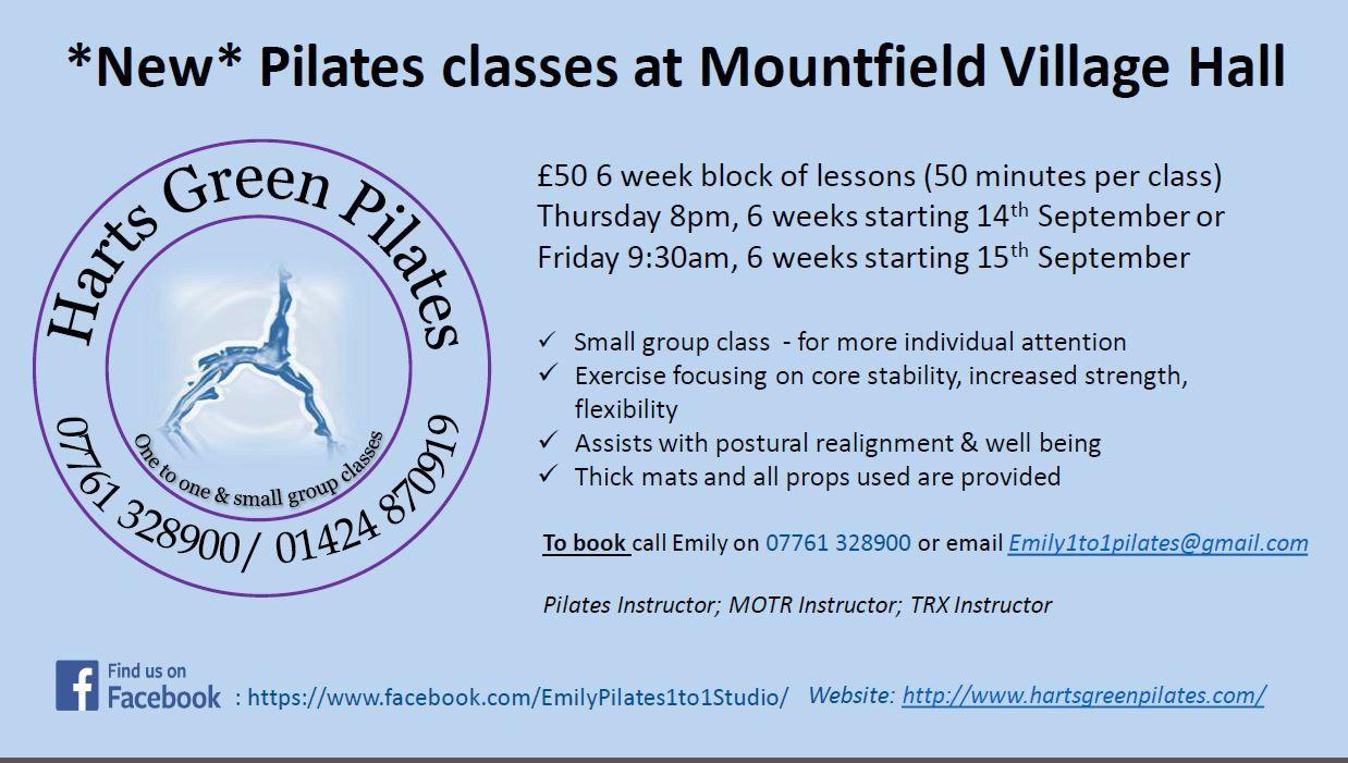 MVH Pilates classes