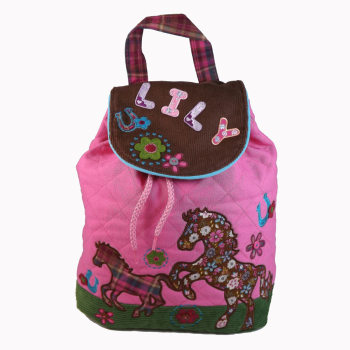 Personalised Child's Backpack Horse Design - Signature Collection