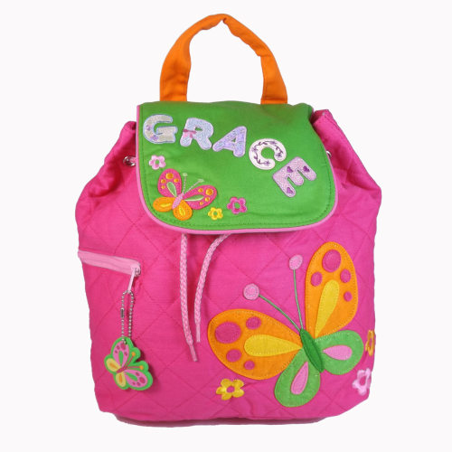 Personalised Child's Backpack Butterfly Design