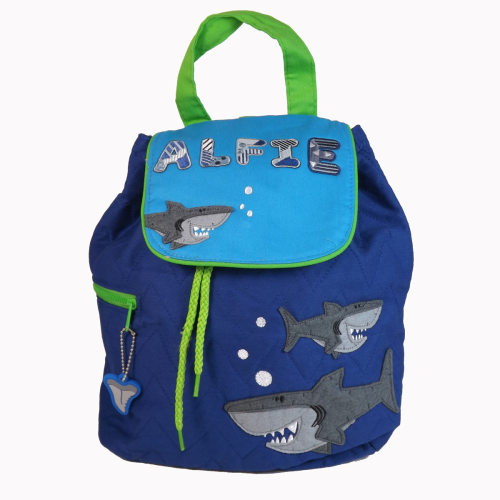 Personalised Child's Backpack Shark Design