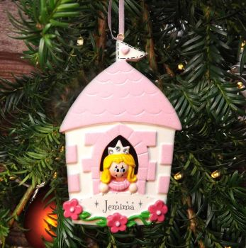 Princess - Personalised Christmas Decoration