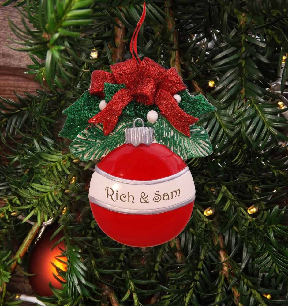 Bauble - Personalised Christmas Decoration