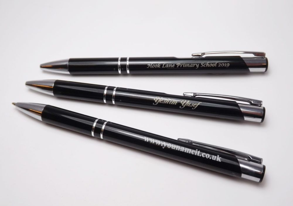 Personalised Pens with individual or school name for your students.