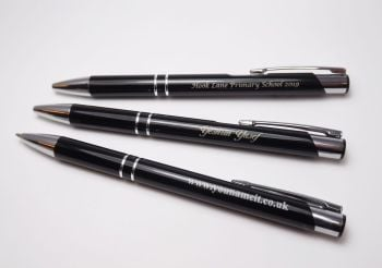 Personalised Pens From £1.70 each with individual or school name for your students