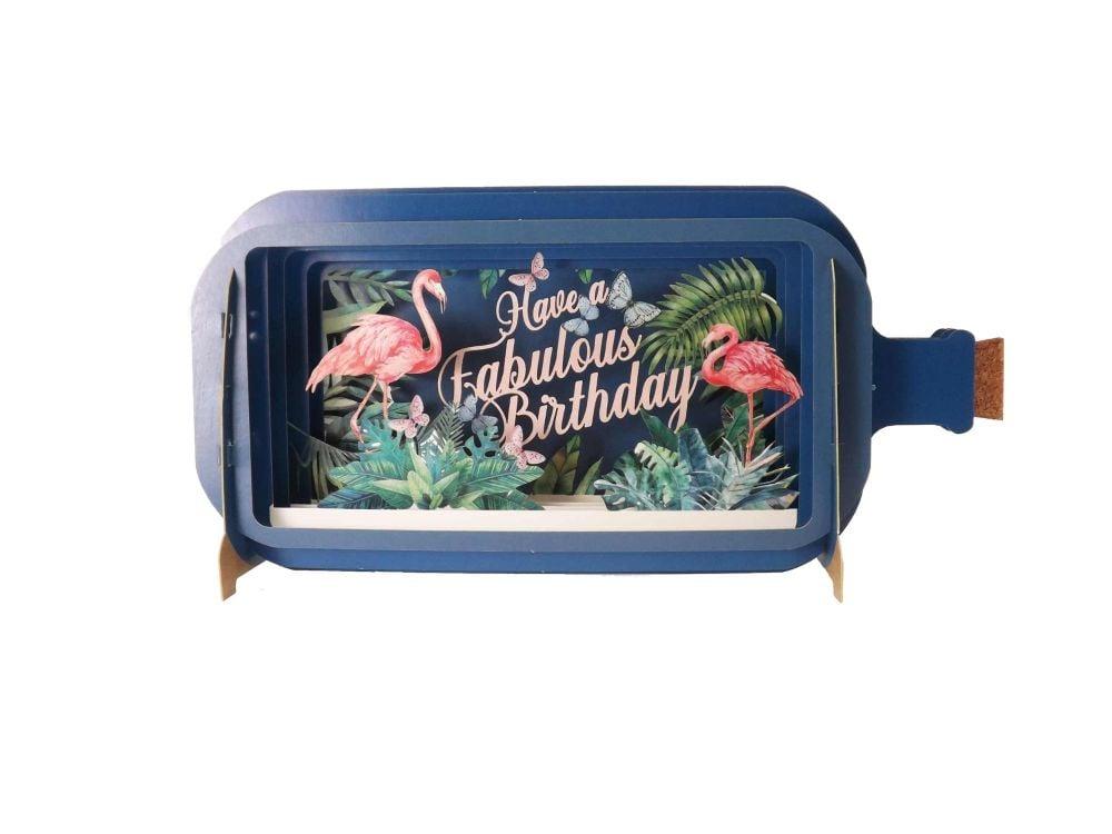 3D Pop Up Birthday Greetings Card