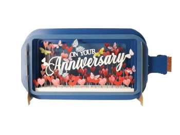 3D Pop Up Anniversary Greetings Card