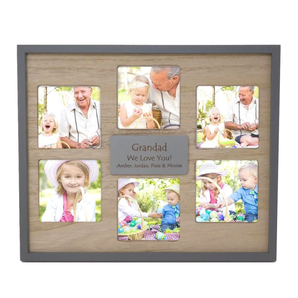 Multi Aperture Frame Personalised | A Unique Father's Day Gift