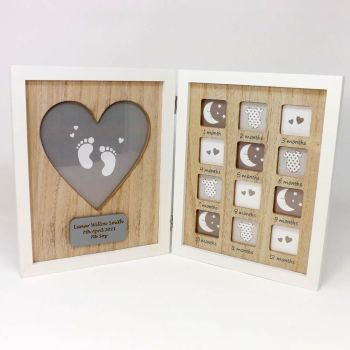 Personalised My First Year Picture Frame