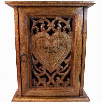 Personalised  Wooden Key Box