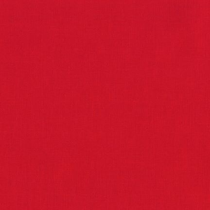 Kona Cotton Solids Red