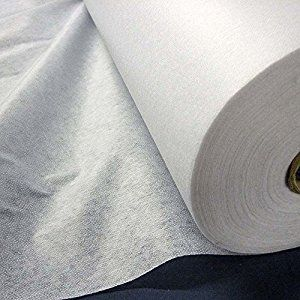 Medium Weight Fusible Iron On Interfacing Fabric (per metre)